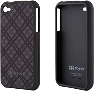 Speck Products Fitted Case for iPhone 4 - Black/Gray - Fits AT&T iPhone