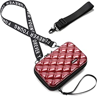 Bolso Movil Mujer,Bandolera Pequeña,Teléfono Celular Crossbody Phone Wallet Bolsa con Cremallera Bandolera Monedero con Ra...