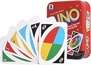 UNO Card Game,Original Uno Card Game for Kids and Adults,Now Special Edition Uno with Metal Case