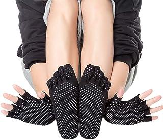 KINDOYO Yoga Socks - Grip Pilates Barre Yoga Socks for Women Sticky Non Slip Socks