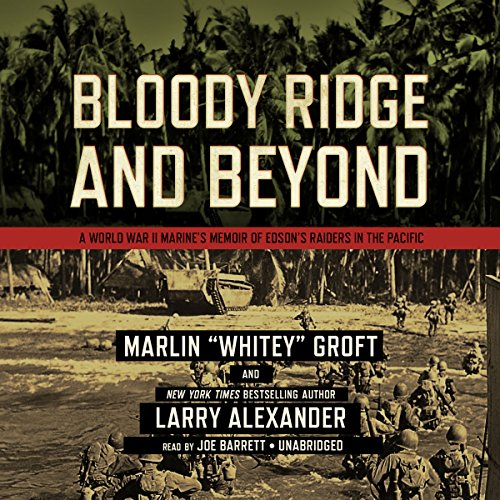 Bloody Ridge and Beyond audiobook cover art