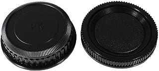 NinoLIte カメラ用キャップ 2個セット Pentax Kマウント レンズ用 リアキャップ と ボディ用 キャップ