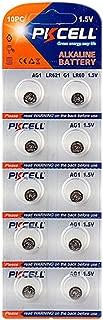 AG1 364A LR60 SR60 LR621 SR621, SR621SW, 364, 164 Alkaline Button Cell 1.5v Batteries 10Pcs