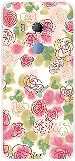 HTC U11 Plus Roses Sketch, Zoot Designer Phone Covers