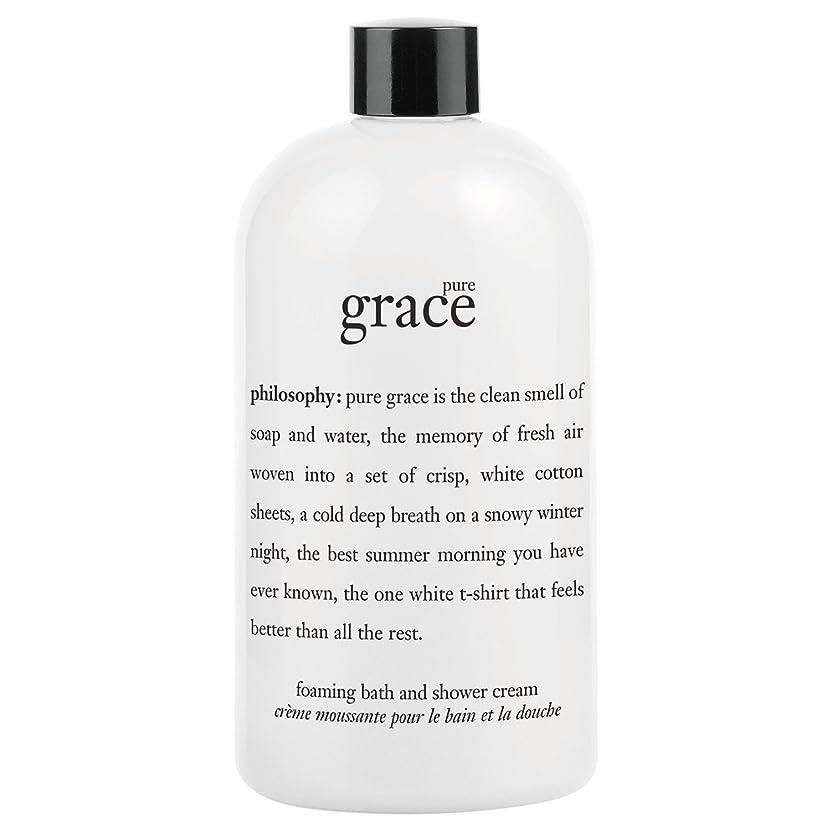 禁止合成農業の哲学純粋な恵みシャワージェル480ミリリットル (Philosophy) (x6) - Philosophy Pure Grace Shower Gel 480ml (Pack of 6) [並行輸入品]