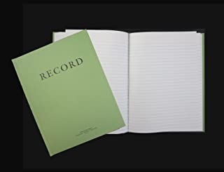 Green Military Log Book, Record Book, Memorandum Book, 8 X 10-1/2 Green Log Book NSN 7530-00-222-3525
