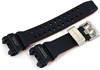 Casio 10493098 Genuine Factory Replacement Resin/Carbon Fiber Watch Band fits GPW-1000-2A