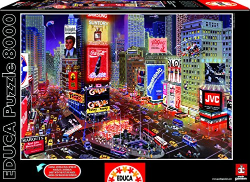 Educa 16325 Puzzle 8000 Pezzi - An Evening In Times Square, New York