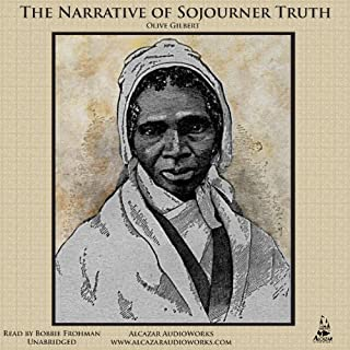 The Narrative of Sojourner Truth audiobook cover art