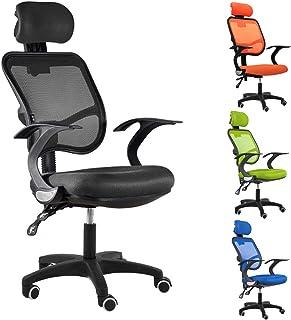 人間工学 オフィスチェア パソコンチェア事務椅子 (black)