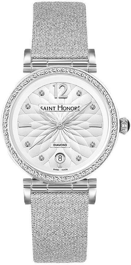 Saint Honoré Reloj Analogico para Mujer de Cuarzo con Correa en Acero Inoxidable 7520121AFDN2