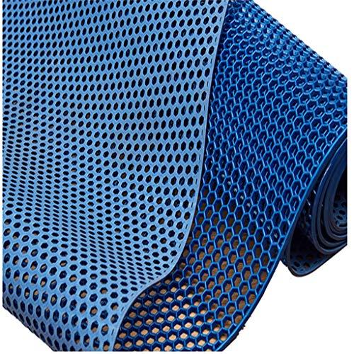 Tapis dedouche Tapis pour enfants T Pvc anti-dérapant tapis eau hexagonal creux grille hôtel salle de bains toilette tapis de piscine tapis en plastique Tapiantidérapant facile à nettoyer