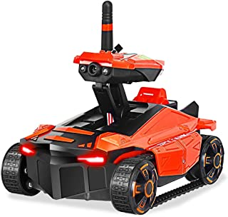 YD211 FPV Kids WiFi Shooting RC Spy Tank Toy with HD Camera | Remote Control Toy Vehicle | Lithium Battery | WiFi App Control (iOS or Android) | Ideal as Gift for Birthday, Christmas or Any Occasion