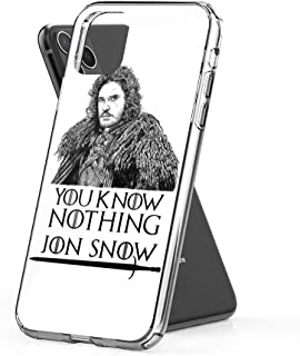 Case Phone Anti-Scratch Television Show Cases Cover Jon Snow You Know Nothing Tv Pop Culture Tv Shows Series (6.5-inch Diagonal Compatible with iPhone 11 Pro Max)