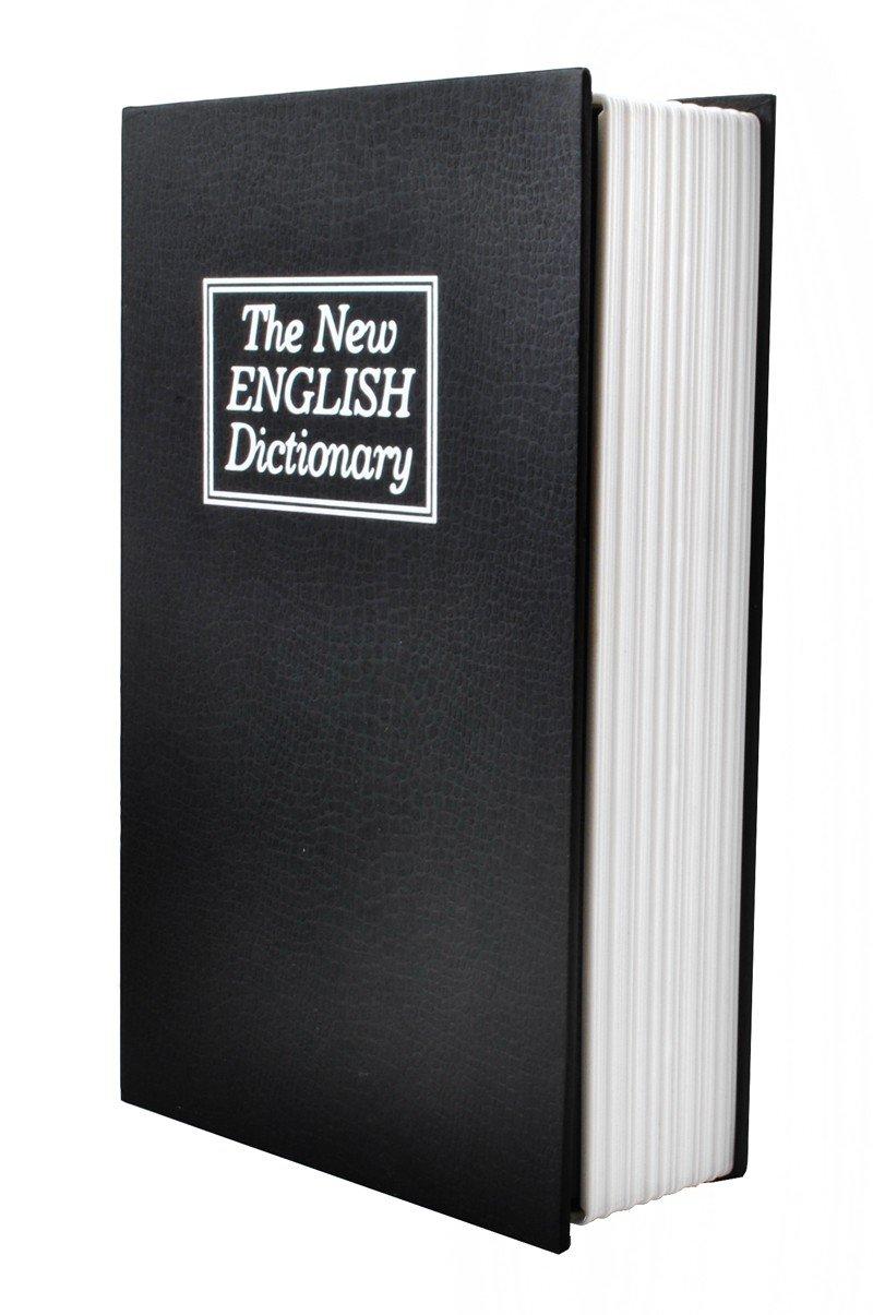 ISO TRADE Caja con Cerradura - Caja de Seguridad con Cerradura - Caja Oculta con Forma de Libro #1212: Amazon.es: Juguetes y juegos