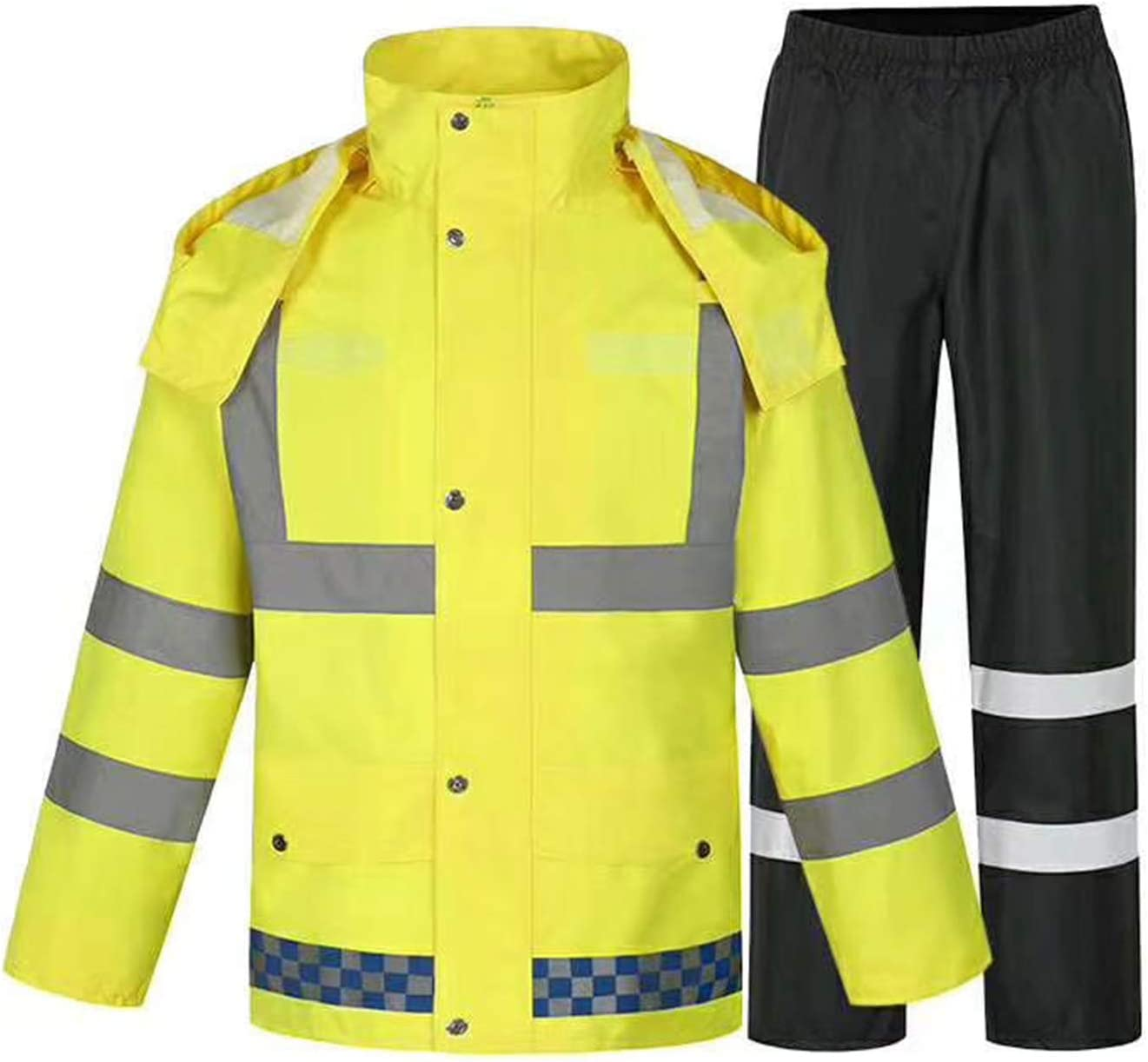 Large discharge sale ZOJO High Visibility Safety Rain Pants Visibi suit Luxury goods Jacket