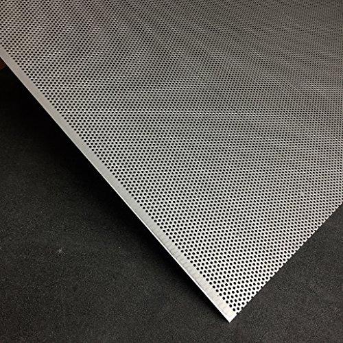 Lochblech Edelstahl RV 2-3,5 V2A t=1,5mm Zuschnitt individuell auf Maß NEU günstig (1000 mm x 100 mm)