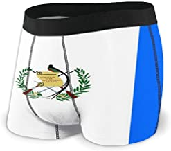 Web--ster Carwayii Guatemala Flag Men 'S Boxer Brief Ropa Interior elástica Transpirable Ligera Talla XL