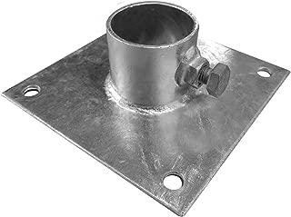"Multinautic Galvanized Steel Base Plate 6""x6"""
