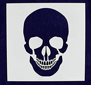 Large Skull Stencil 14 Mil 12 Inch X 12 Inch Painting/Crafts/Templates