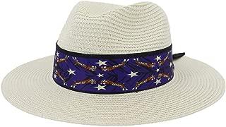 Sun Hat for men and women Fashion Women Summer Straw Sun Hat Elegant Queen Beach Hat Chapeu Feminino Striped Floral Satin Beach Hat Fedora Sombrero Hat