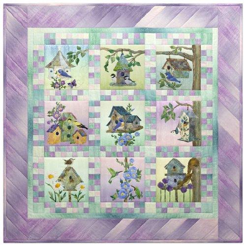 McKenna Ryan Home Tweet Home Birds Birdhouse 10 Pattern Set