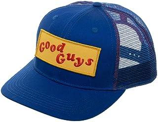 Bioworld Chucky Good Guys Blue Adjustable Trucker Hat Fan Accessory