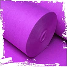 YANZHEN Hallway Runner Rugs Corridor Carpet Disposable Cutable Purple Pink Stage Ceremony 5mm Thick, 1 M / 1.2 M / 1.5 M /...