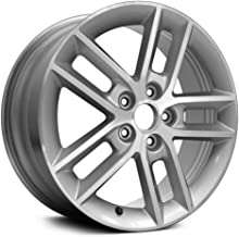Replacement 5 Double Spokes Machined and Silver Factory Alloy Wheel Fits Chevy Impala Limited