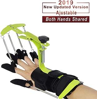 KONLIKING Finger Brace Trigger Splint Support Rehabilitation Training Device Hand Impairment Finger Squeeze Equipment for Stroke Spinal Cord Traumatic Brain Injury Medical Training for Hemiplegia