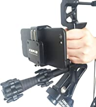 cell phone mount for compound bow