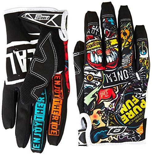 O'neal Jump Crank MX DH FR Handschuhe, Schwarz, M