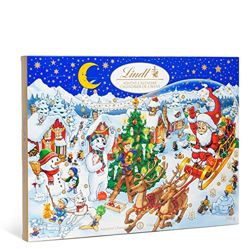 Lindt 2020 Holiday Teddy Bear Advent Calendar, Great for Holiday Gifting, 6.1 Ounce