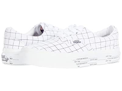 Vans Kids Era (Little Kid) ((U-Color) Checkerboard/True White) Kids Shoes