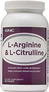 GNC LArginine LCitrulline 120 Caplets