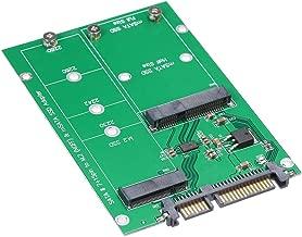 Docooler SATA Adapter M.2 NGFF to SATA Adapter Card MSATA SSD to SATA III Converter Support 2230 2242 2260 2280