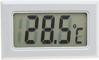 XYXZ Mini Termómetro Higrómetro Digital Interior Exterior Temperatura Humedad Medidor C/F Pantalla LCD Sensor Sonda Estaci...