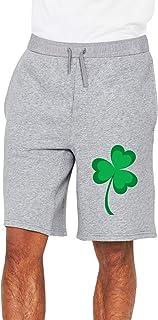 Distressed Irish St Paddys Day Shamrock Men`s Shorts Men`s Sport Shorts