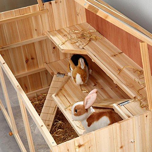 Nagerkäfig Villa Hamsterkäfig Mäusekäfig Kleintierkäfig Käfig Rattenkäfig Holz - 4