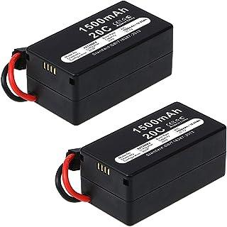 subtel 2X Batteria Premium Compatibile con Parrot AR.Drone 1.0 / AR.Drone 2.0 Elite & Power Edition, 1500mAh accu Ricambio...