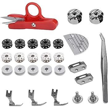 Akozon Accesorios para máquinas de coser 27 piezas ...