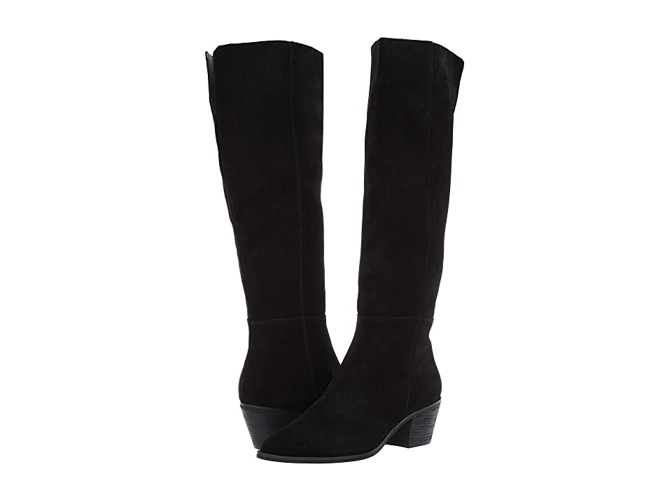Steve Madden Largo Boot (Black Suede) Women