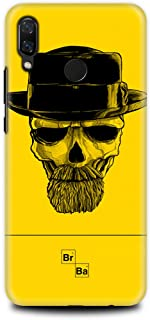 Huawei Nova 3i Case - TV Series - Yellow Breaking Bad Skull - Breaking Bad