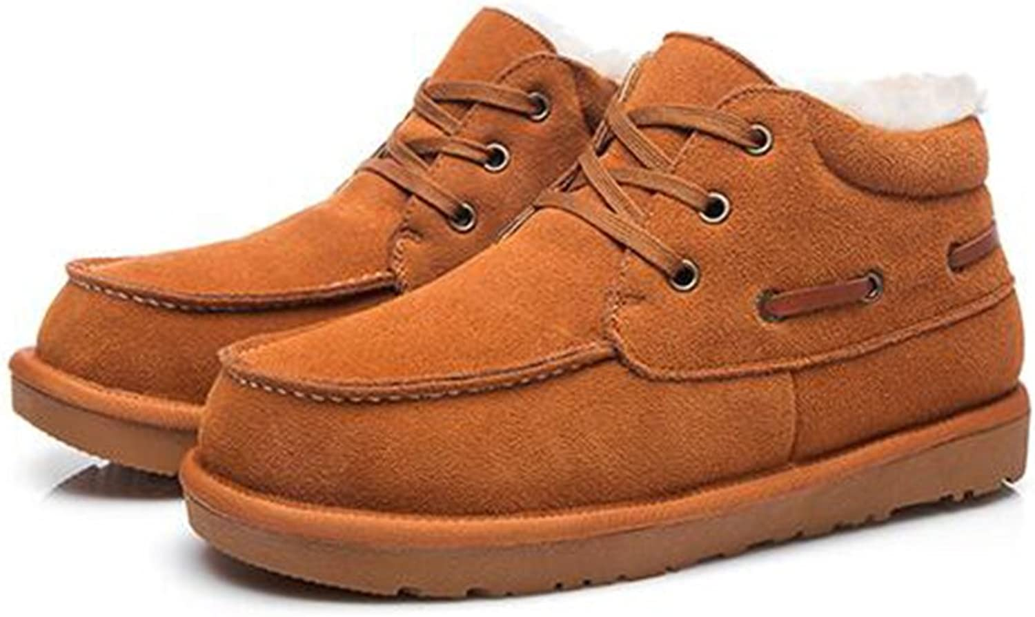Men's shoes Feifei Winter Outdoor Thickening Keep Warm Cotton shoes 3 colors (color   02, Size   EU 41 UK7.5-8 CN42)