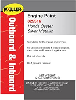 Best honda outboard silver paint Reviews