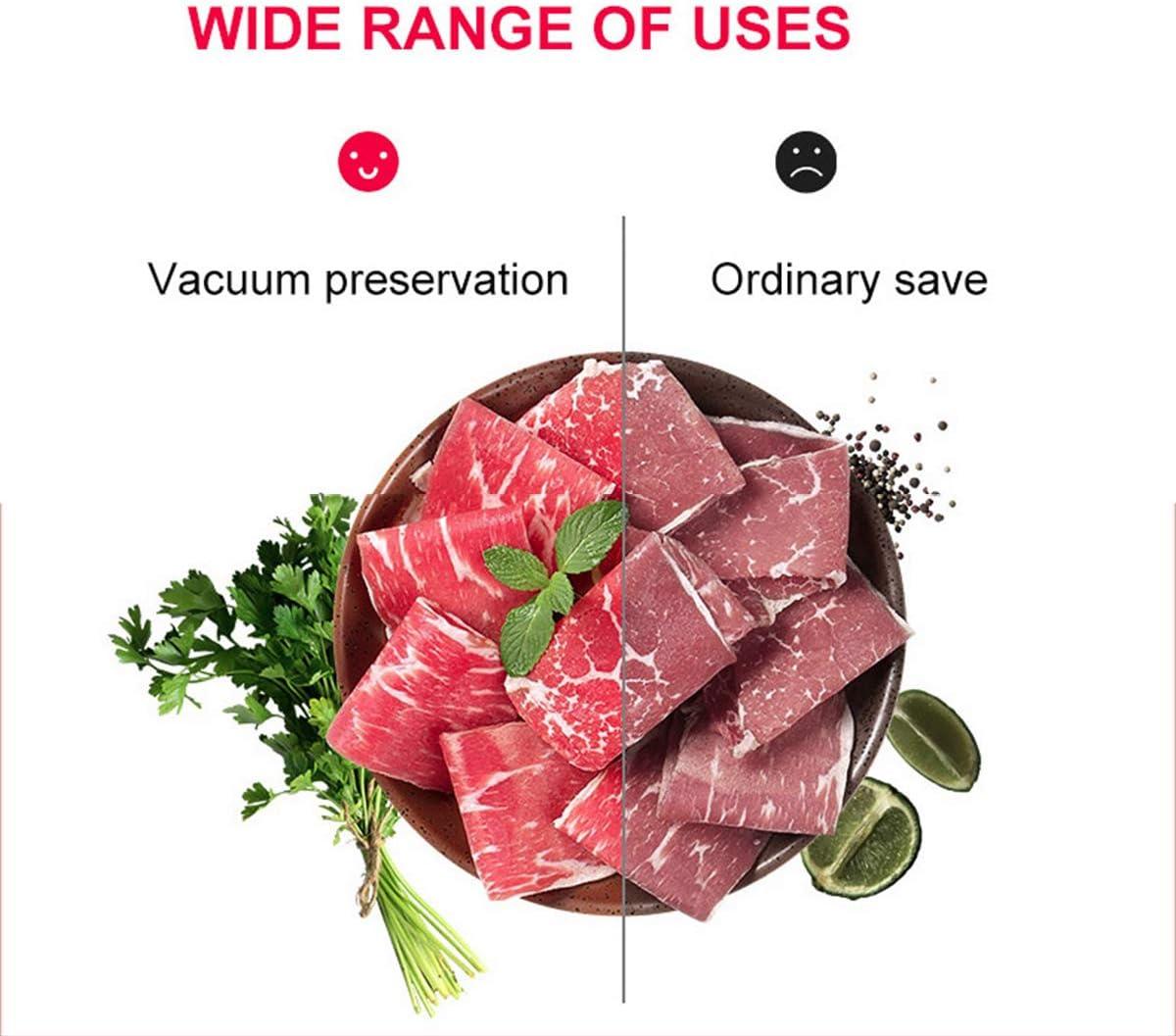 SHUHAO Vacuüm Sealing Machine, Automatische Voedsel Vacuüm Sealing Machine, Kan Gebruikt worden voor Vlees Zeevruchten/Verse Groenten/Snack Droge Goederen Zwart