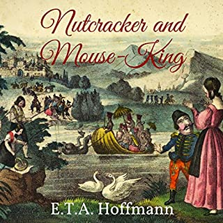 Nutcracker and Mouse-King audiobook cover art