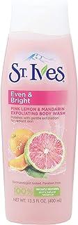 St. Ives Even And Bright Pink Lemon And Mandarin Orange Body Wash, 400ml