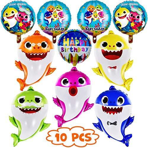 Baby Shark Party Balloons
