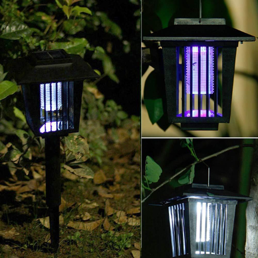 Nany Lámpara Repelente de Mosquitos, luz LED Solar para Insectos, Insectos, Mosquitos, luz de jardín, lámpara de energía Solar, iluminación LED: Amazon.es: Productos para mascotas